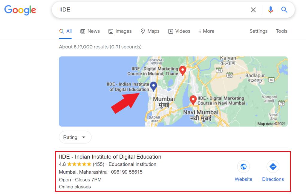digital marketing strategies - google my business1