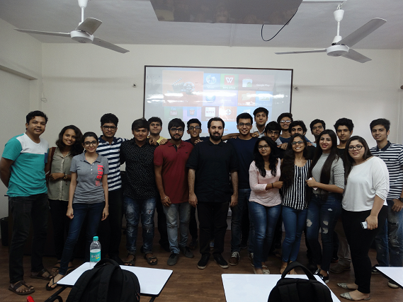 Mumbai Foodie session on blogging, events at IIDE