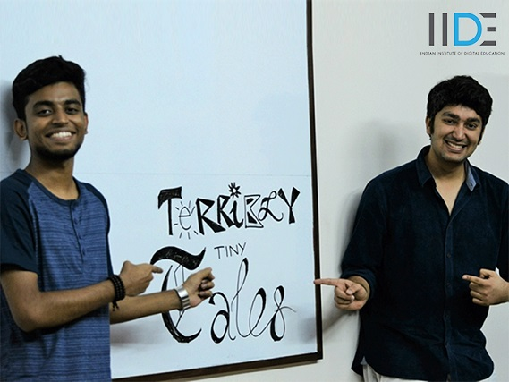 Terribly Tiny Tales Workshop on micro Content Writing, events at IIDE