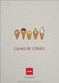 Zomato Marketing Strategy Game Of Thrones Post