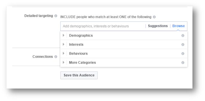 Targeting Audience on Facebook