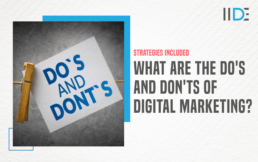 Do's & Don'ts of Digital Marketing - Featured Image