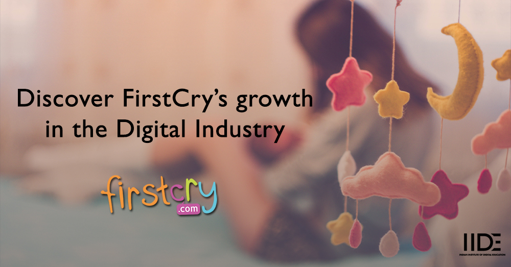 First cry:  Digital Strategies to make a maternal care site an E-commerce success
