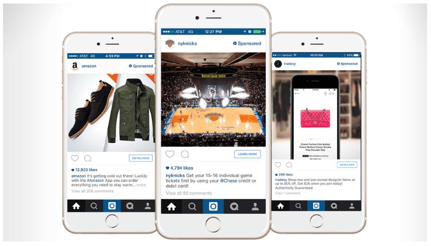 Instagram vs Snapchat - Insta Ads