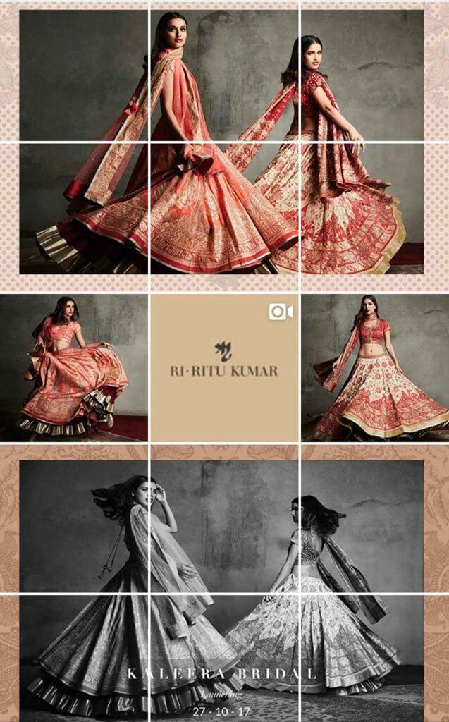 Indian Fashion Designers on Instagram Ri Ritu Kumar