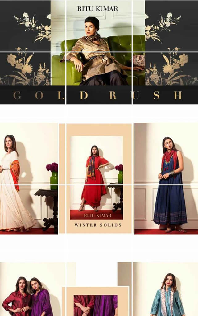 Indian Fashion Designers on Instagram Ritu Kumar