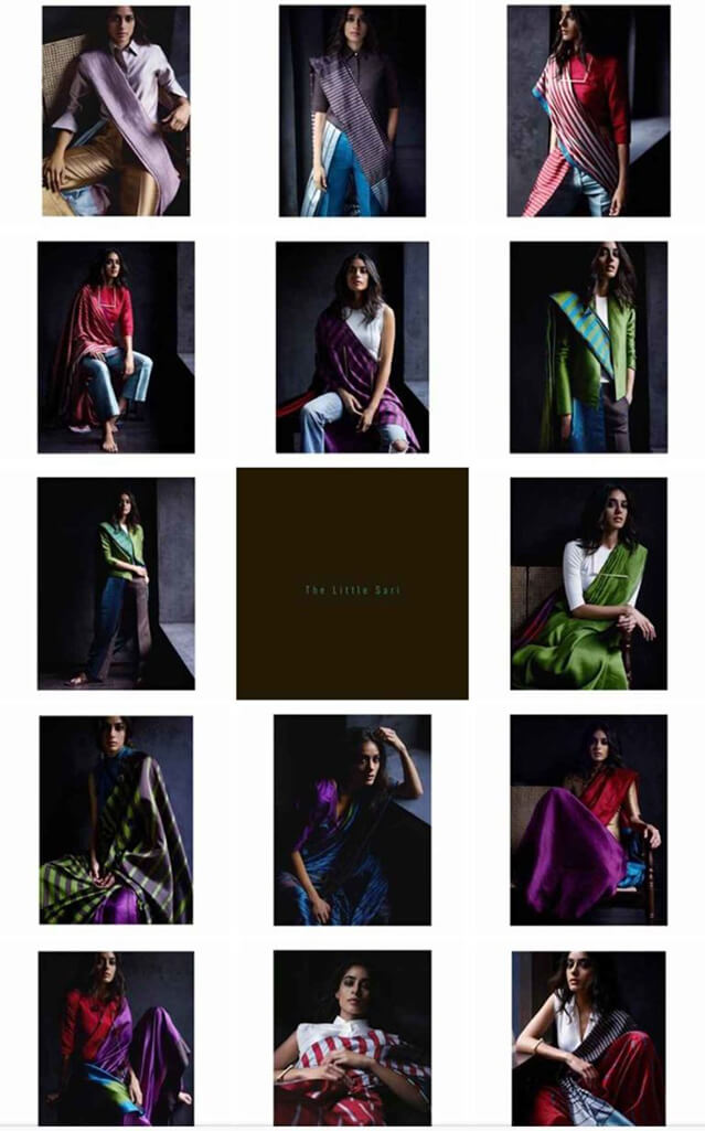 Indian Fashion Designers on Instagram The Little Sari