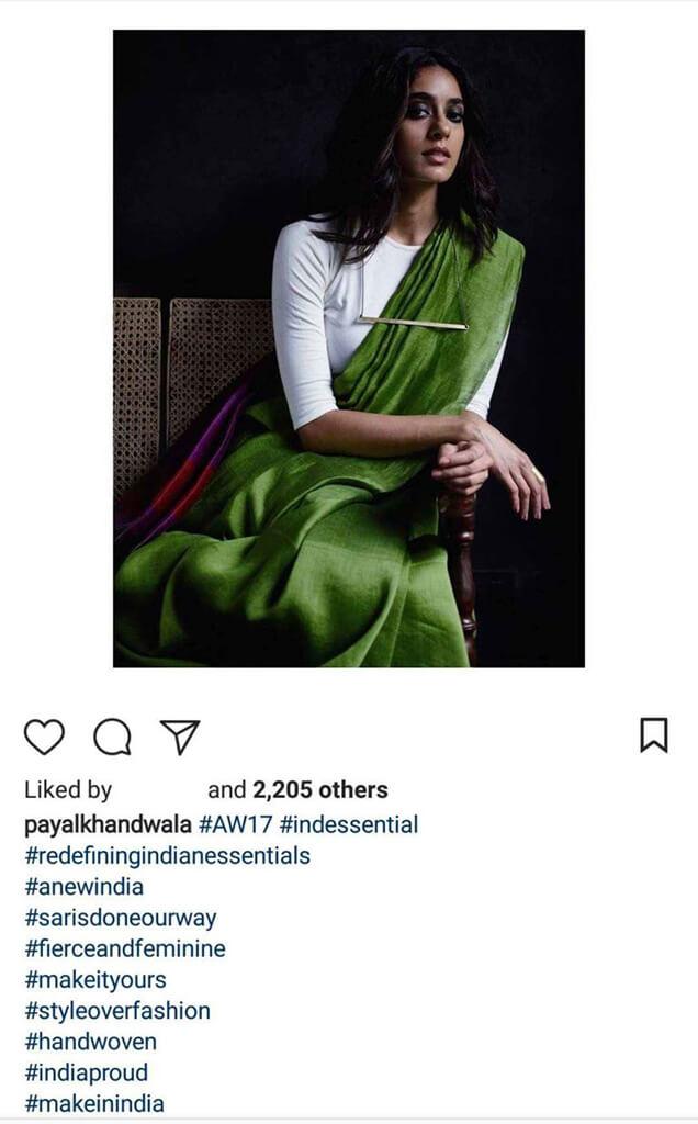 Indian Fashion Designers on Instagram payalkhandwala