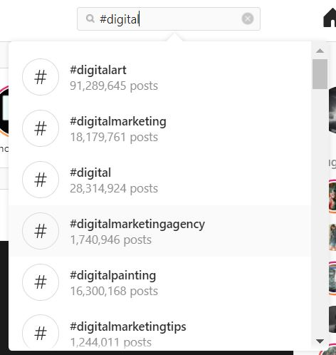 hashtags for instagram - hashtag suggestion