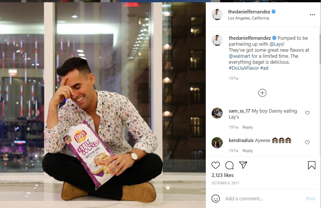 hashtags for instagram - lay's #DoUsAFlavor