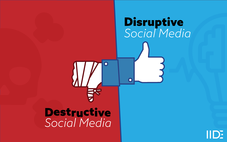 A Social Media Essay on its Destructive and Disruptive Effects