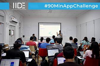 IIDE-90 Mins App Challenge