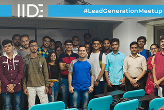 IIDE-Lead Generation Meetup
