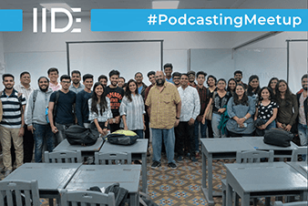 IIDE-Podcasting Meetup
