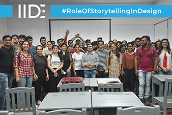 IIDE-Story Telling in Design Meetup