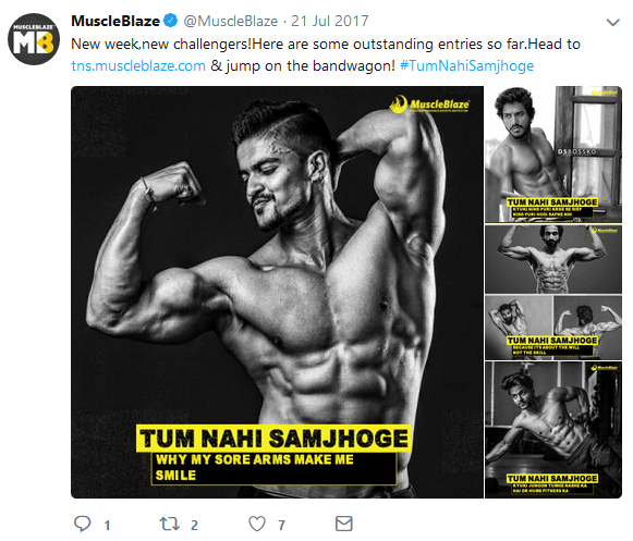 Muscleblaze-Marketing Campaign Tum Nahi Samjhoge Challengers
