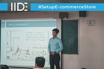 IIDE-Setup E-Commerce Store