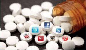 Social Media Addiction Like a Drug