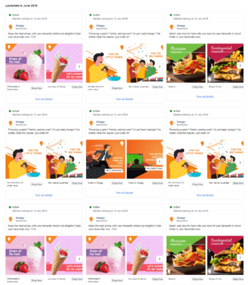 Swiggy Digital Marketing Strategy-Facebook Ads