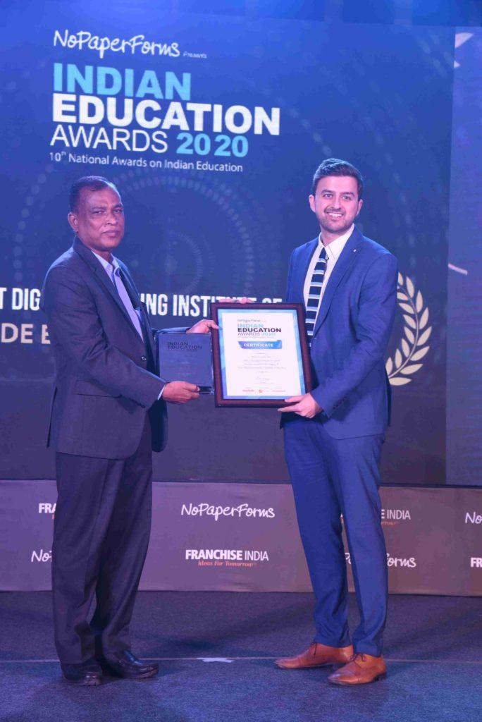IIDE wins Indian Education Award