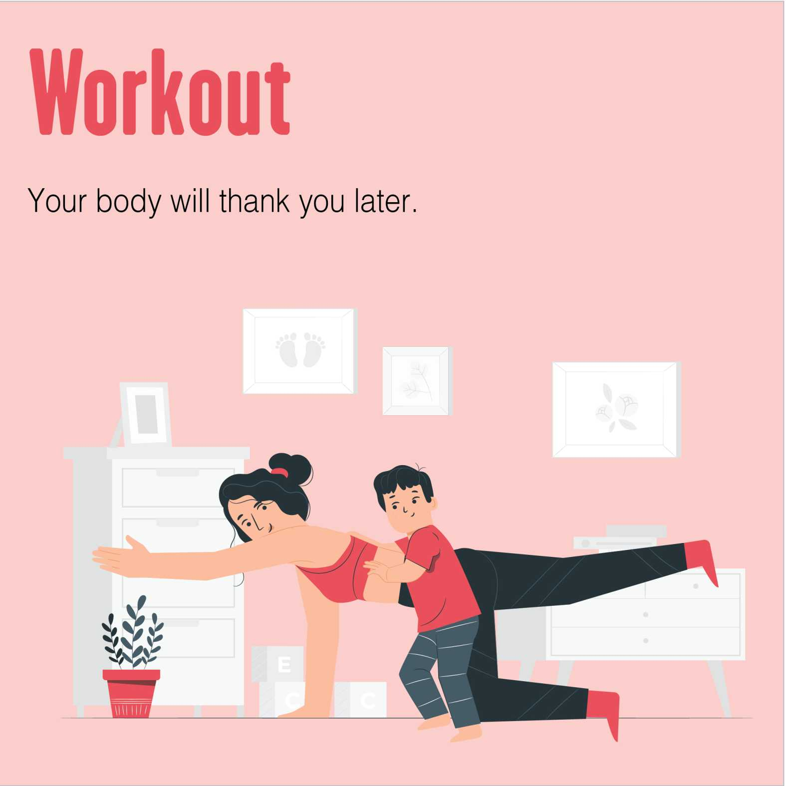 Exercise and workout