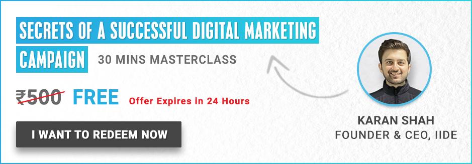 Digital Marketing Courses in Delhi - masterclass