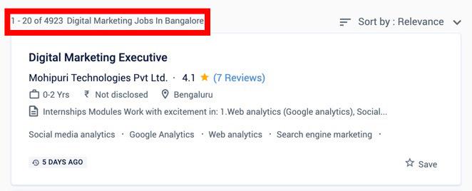 Digital Marketing Jobs in Bangalore - Digital Marketing Courses in Bangalore