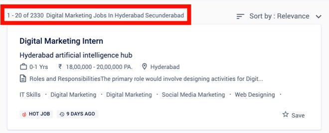 Digital Marketing Jobs in Hyderabad - Digital Marketing Courses in Hyderabad