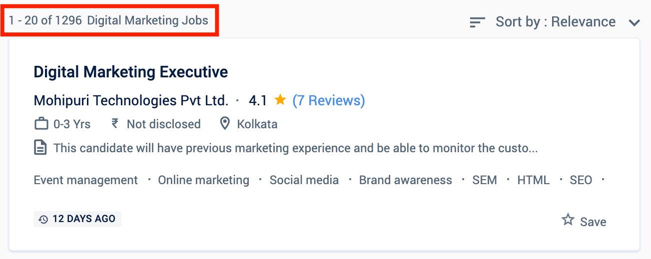 Digital Marketing Jobs in Kolkata - Digital Marketing Courses in Kolkata