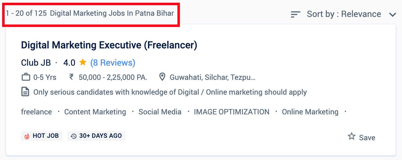 Digital Marketing Jobs in Patna - Digital Marketing Courses in Patna