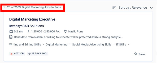 Digital Marketing Jobs in Pune - Digital Marketing Courses in Pune