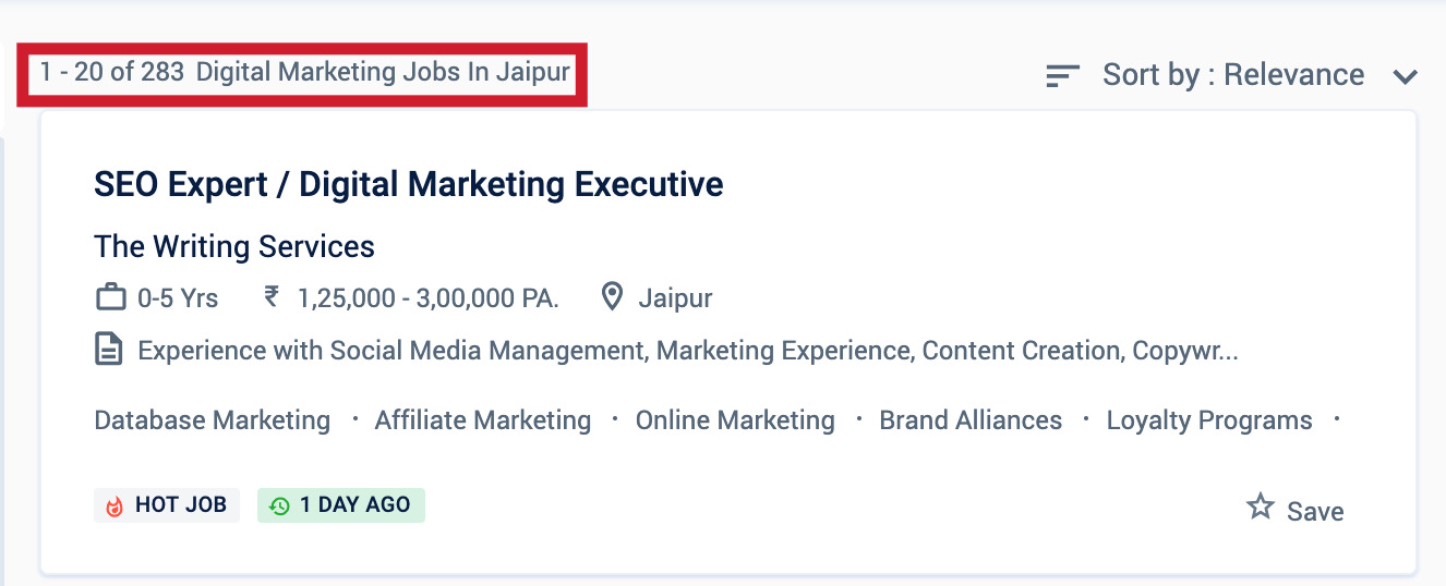 Digital Marketing Jobs - Digital Marketing Courses in Jaipur
