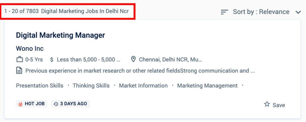 Digital marketing jobs in Delhi - Digital marketing courses in Delhi
