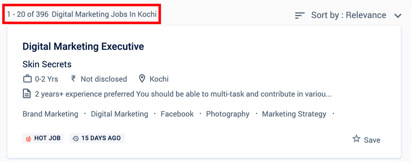 Digital marketing jobs in Kochi - Digital marketing courses in Kochi