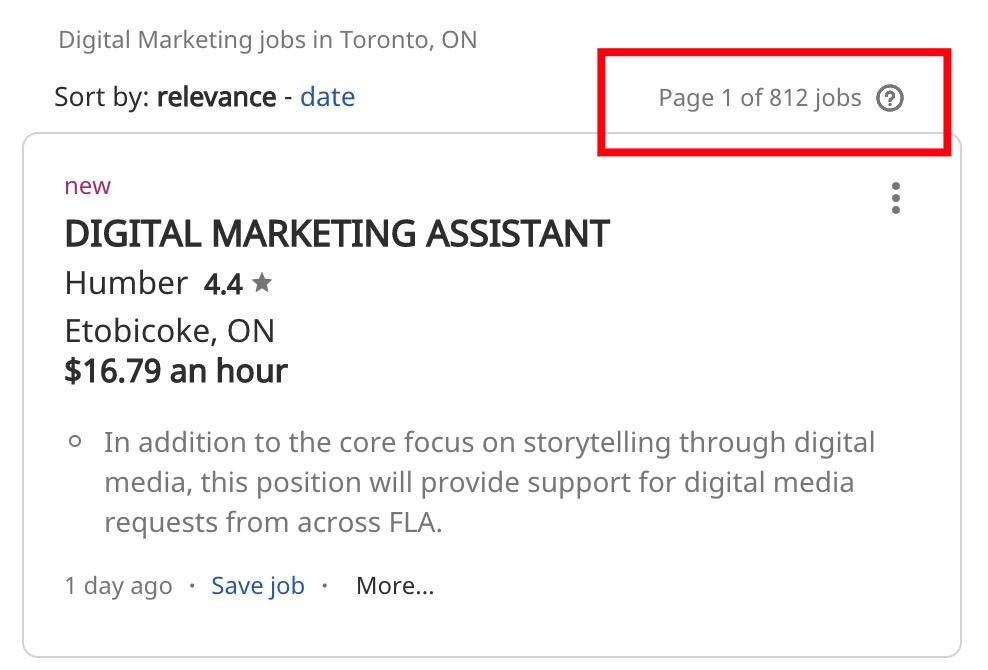 Digital marketing jobs in Toronto - Digital marketing courses in Toronto