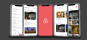 Airbnb case study hi-fi of their app prototype