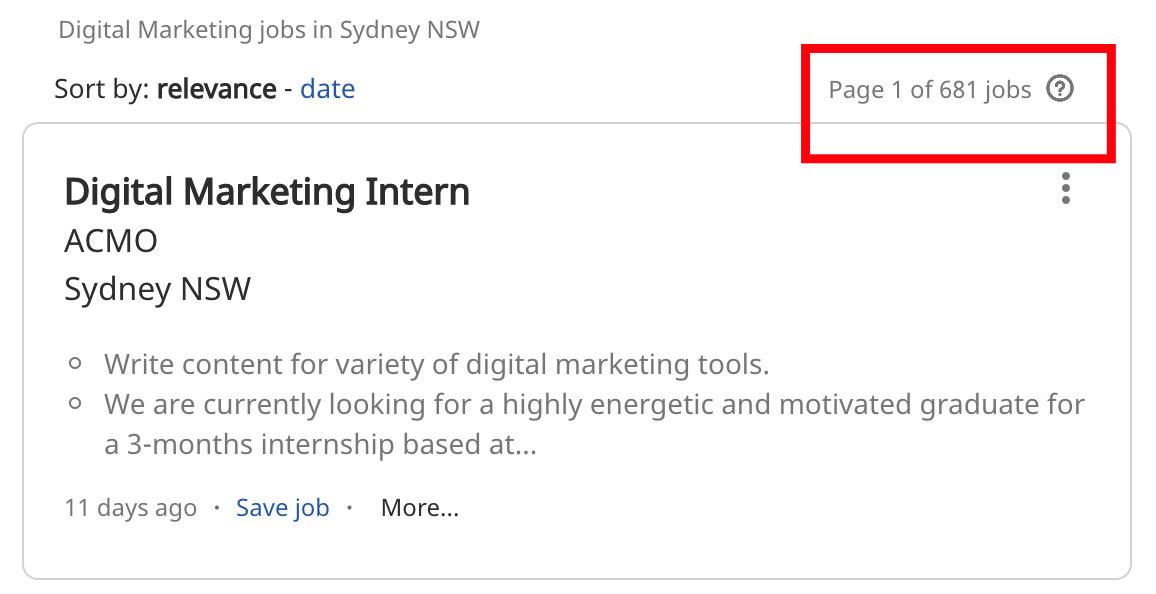 Digital Marketing Jobs in Sydney