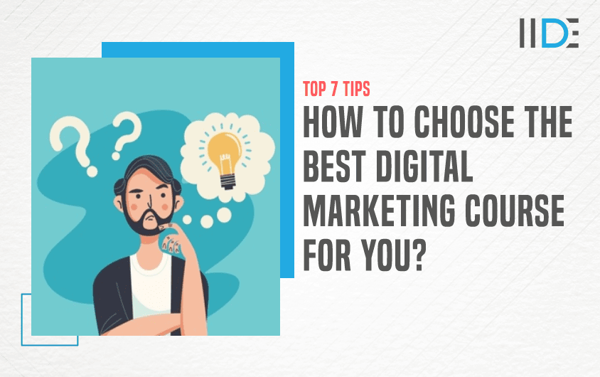 Tips to choose best digital marketing course - Featured Image