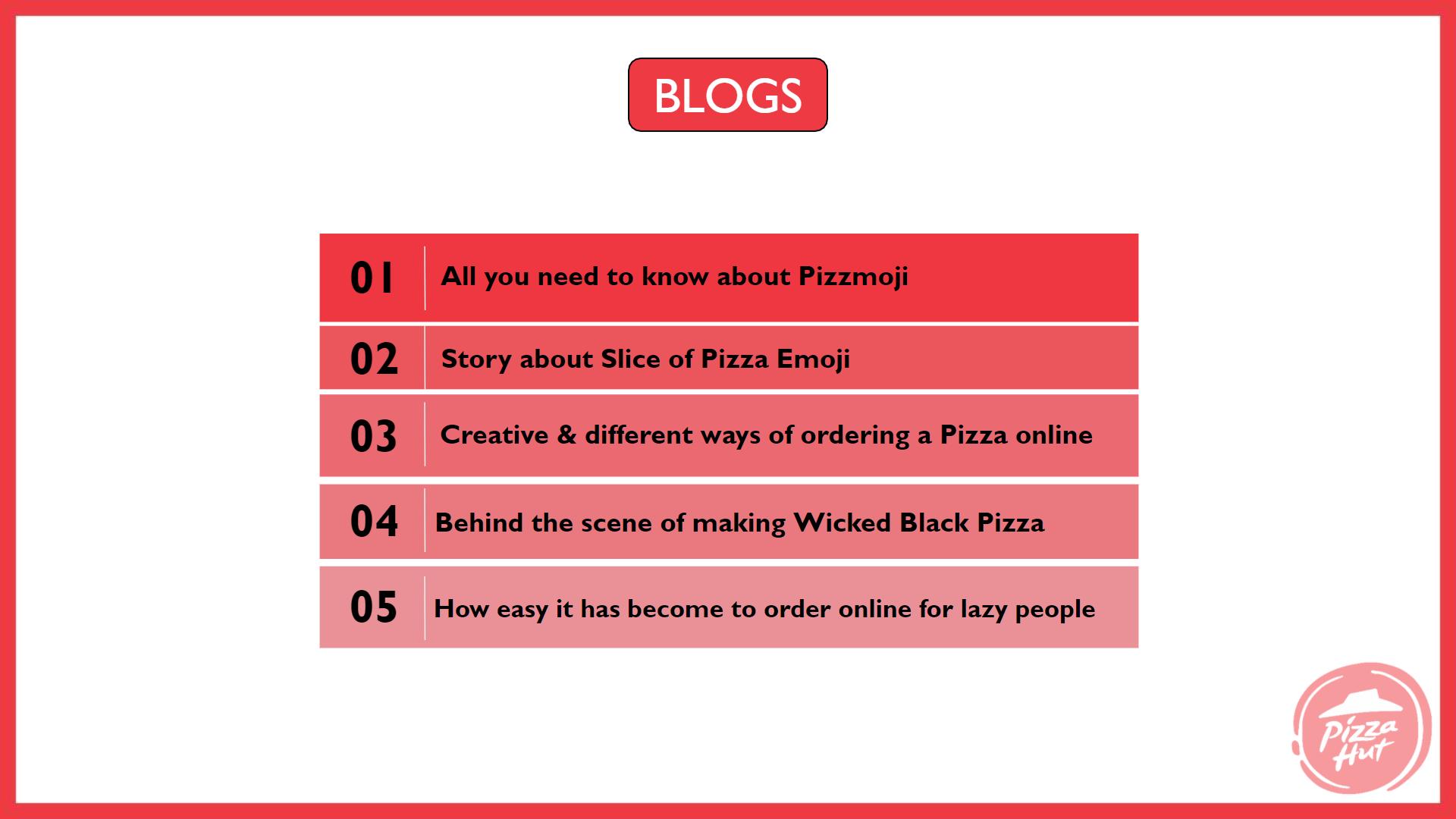 pizza hut marketing strategy Blog Strategy - Pizza Hut Marketing and Advertising Strategy
