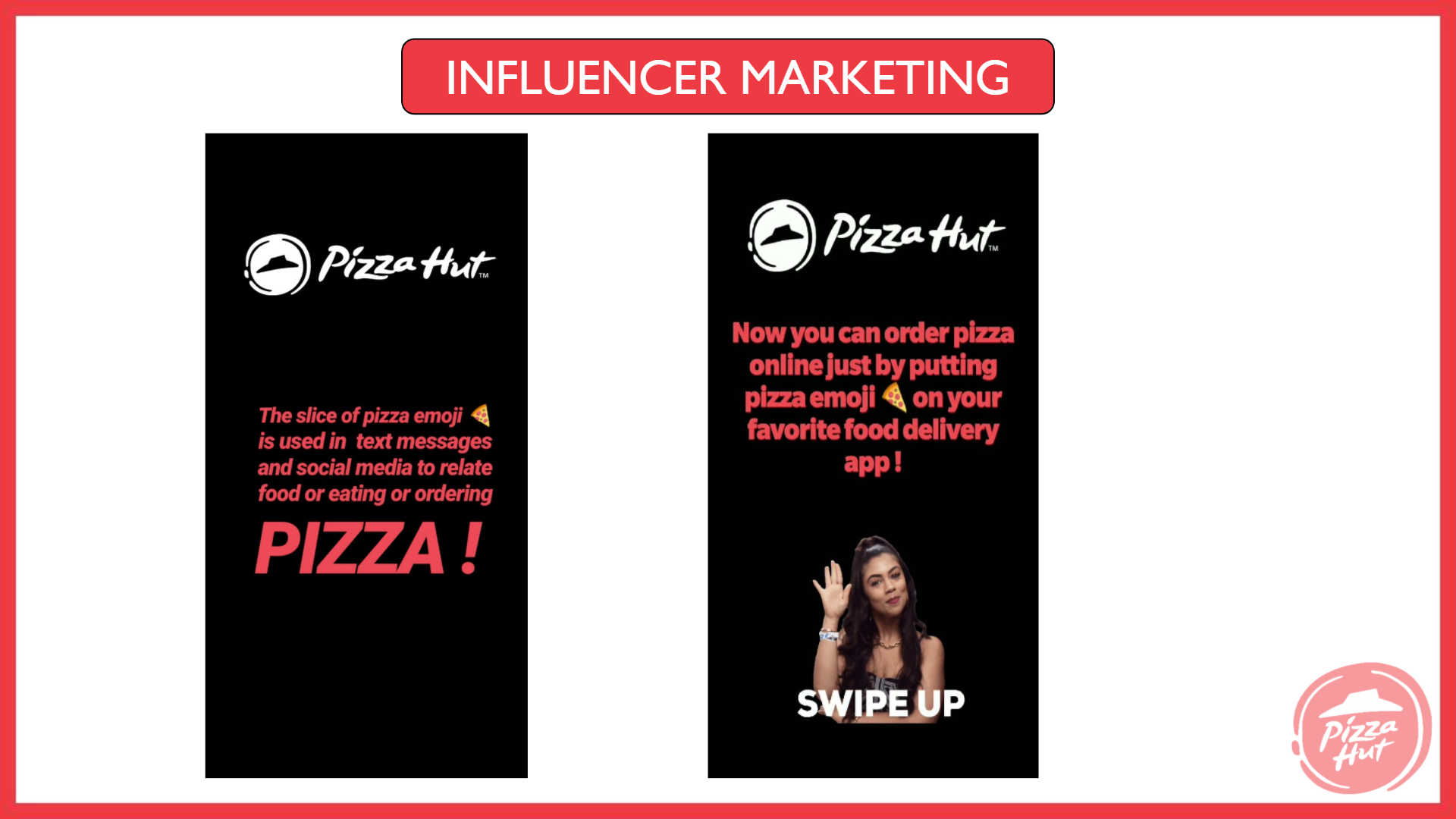 pizza hut marketing strategy Inluencer Marketing 3 - Pizza Hut Marketing and Advertising Strategy