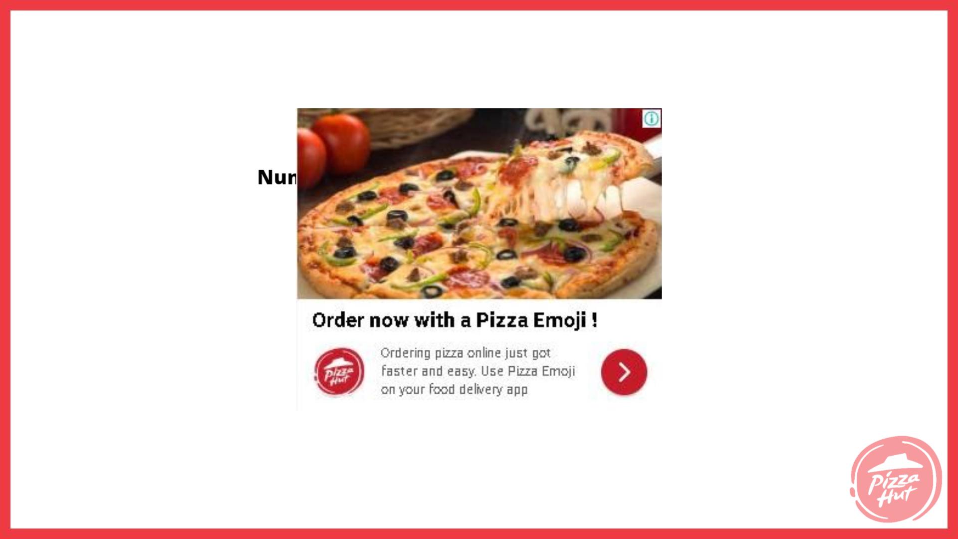 pizza hut marketing strategy Paid post 3 - Pizza Hut Marketing and Advertising Strategy