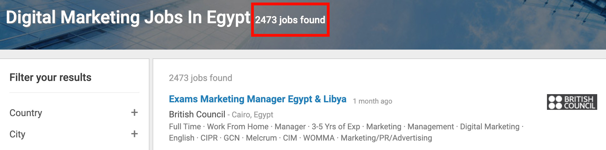 Digital Marketing Jobs in Egypt