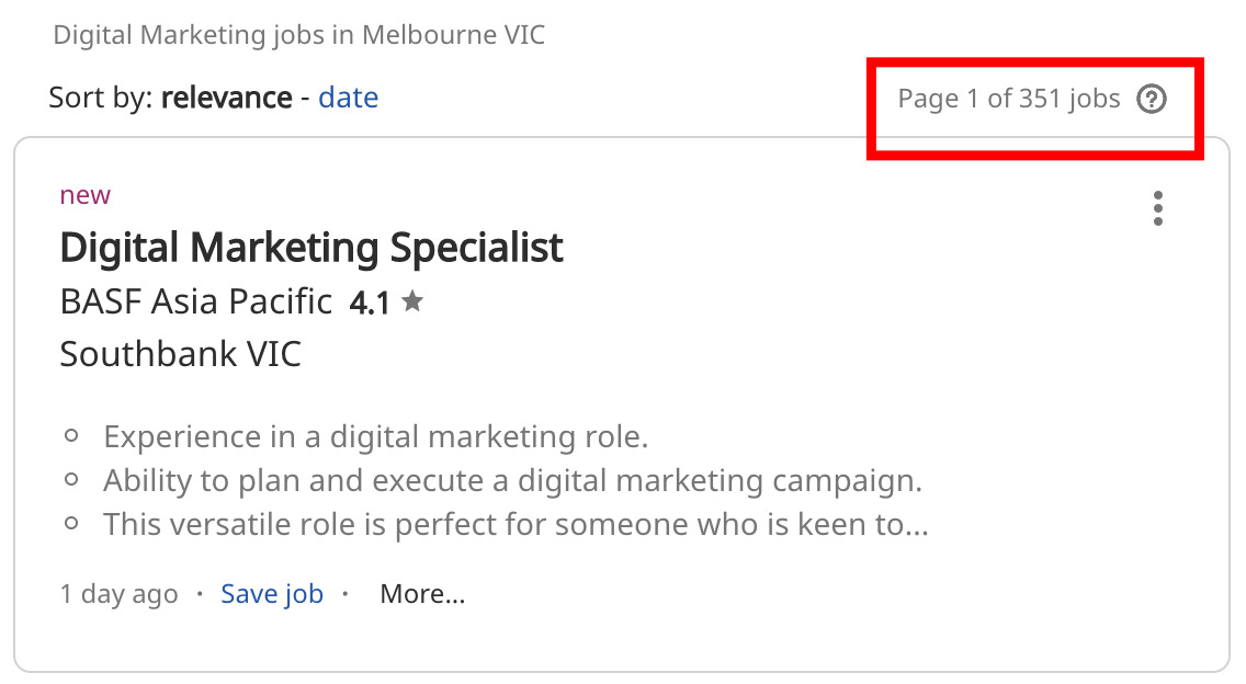 Digital Marketing Jobs in Melbourne