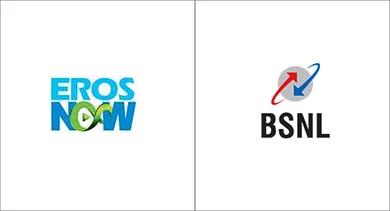 BSNL marketing strategy eros now
