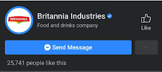 Britannia Marketing Strategy Facebook
