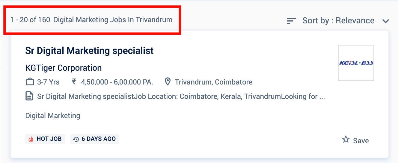 Digital Marketing Jobs in Trivandrum