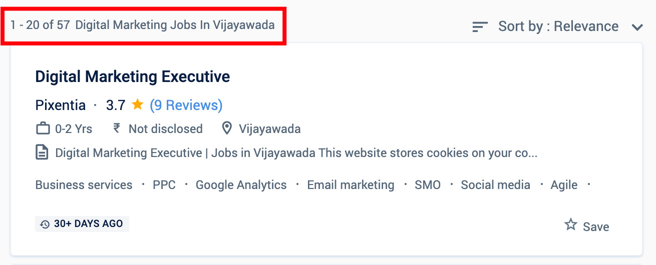Digital Marketing Jobs in Vijayawada