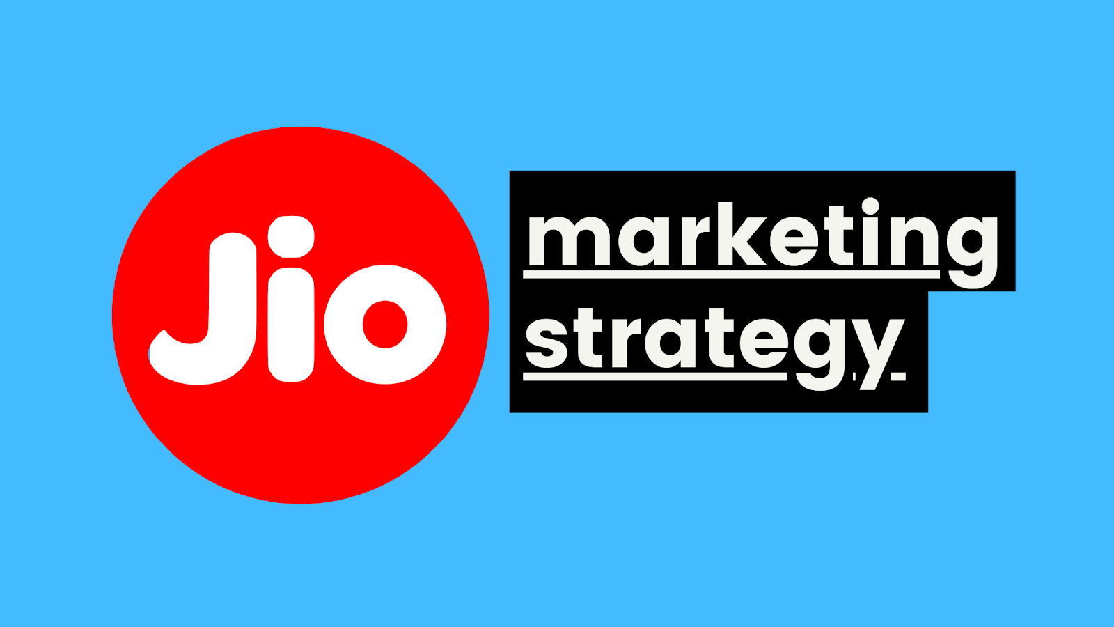 Jio Marketing Case Study | IIDE