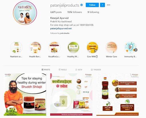 marketing strategy of patanjali Digital Marketing Strategy
