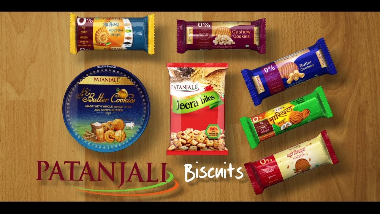 marketing strategy of patanjali Healthy India banaenge, Patanjali biscuit khaenge
